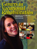 Image of the front cover of the Careers in Vocational Rehabilitation booklet.